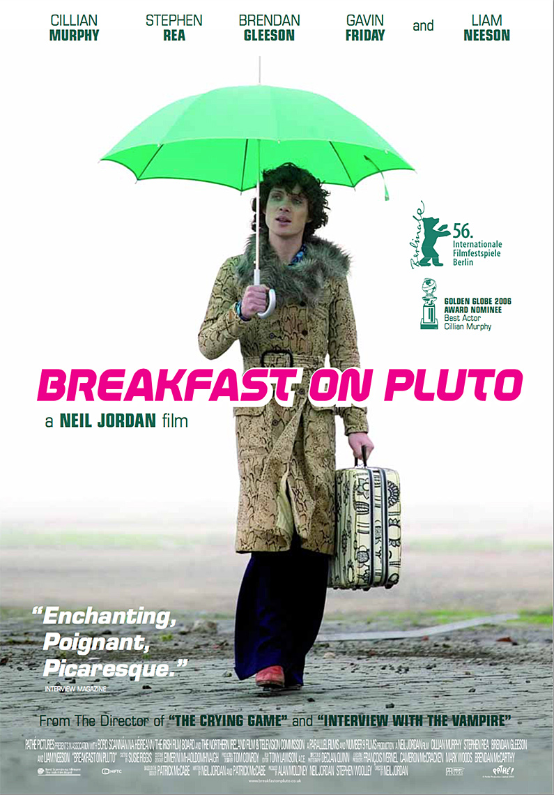 BREAKFAST ON PLUTO Poster with Cillian Murphy