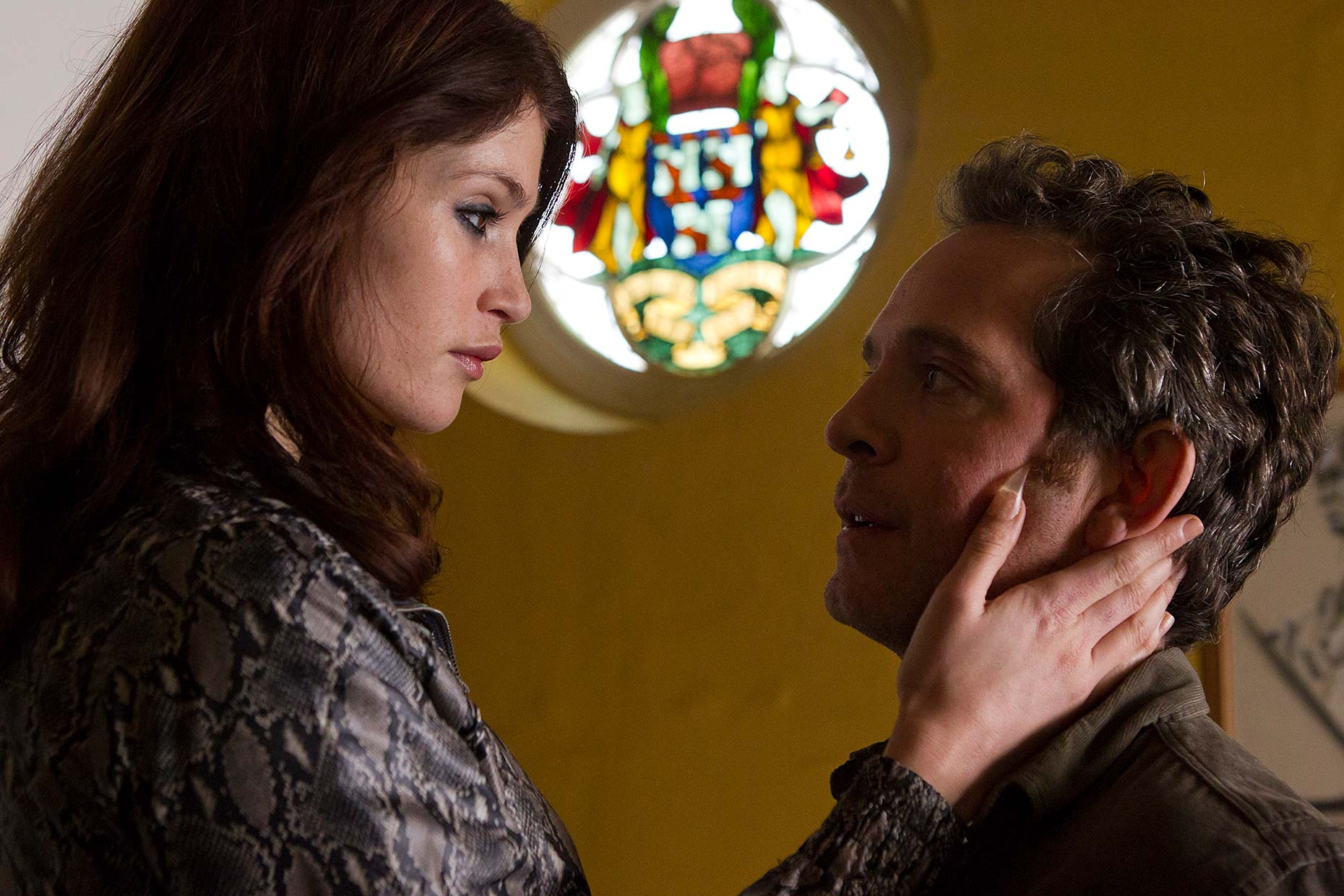 BYZANTIUM Gemma Arterton and Tom Hollander
