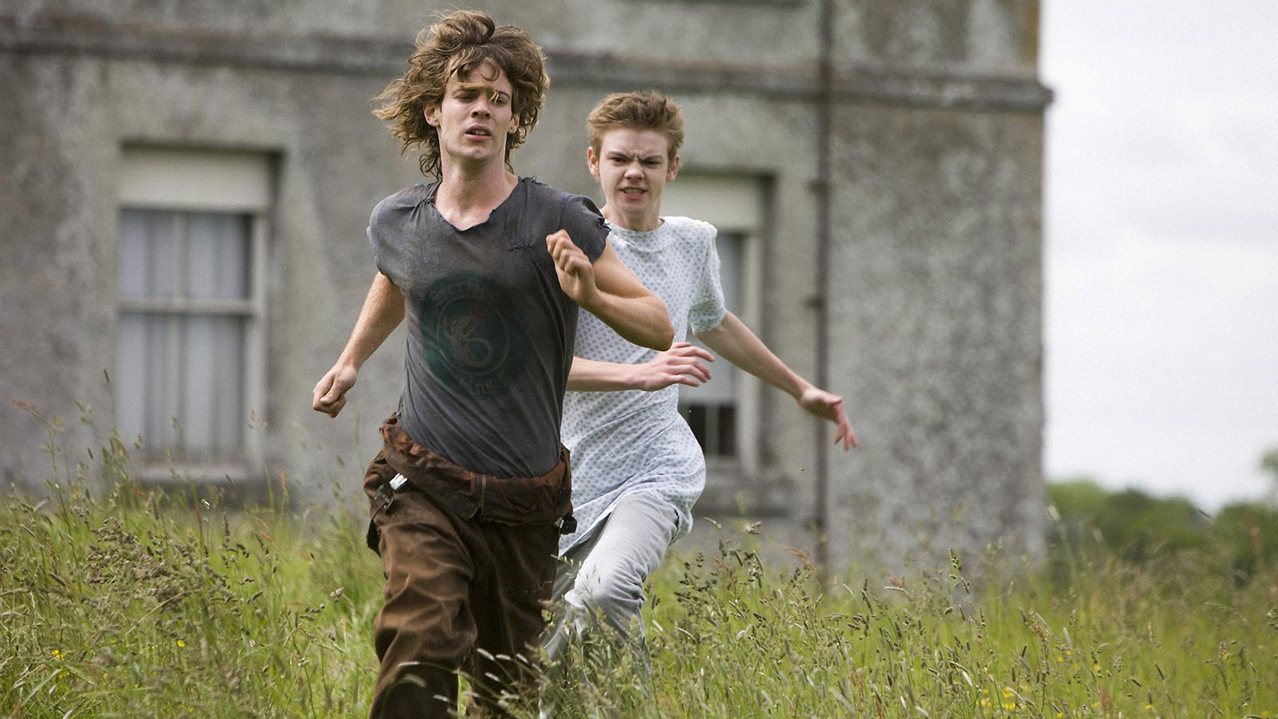 HIDEAWAYS Harry Treadaway and Thomas Brodie-Sangster