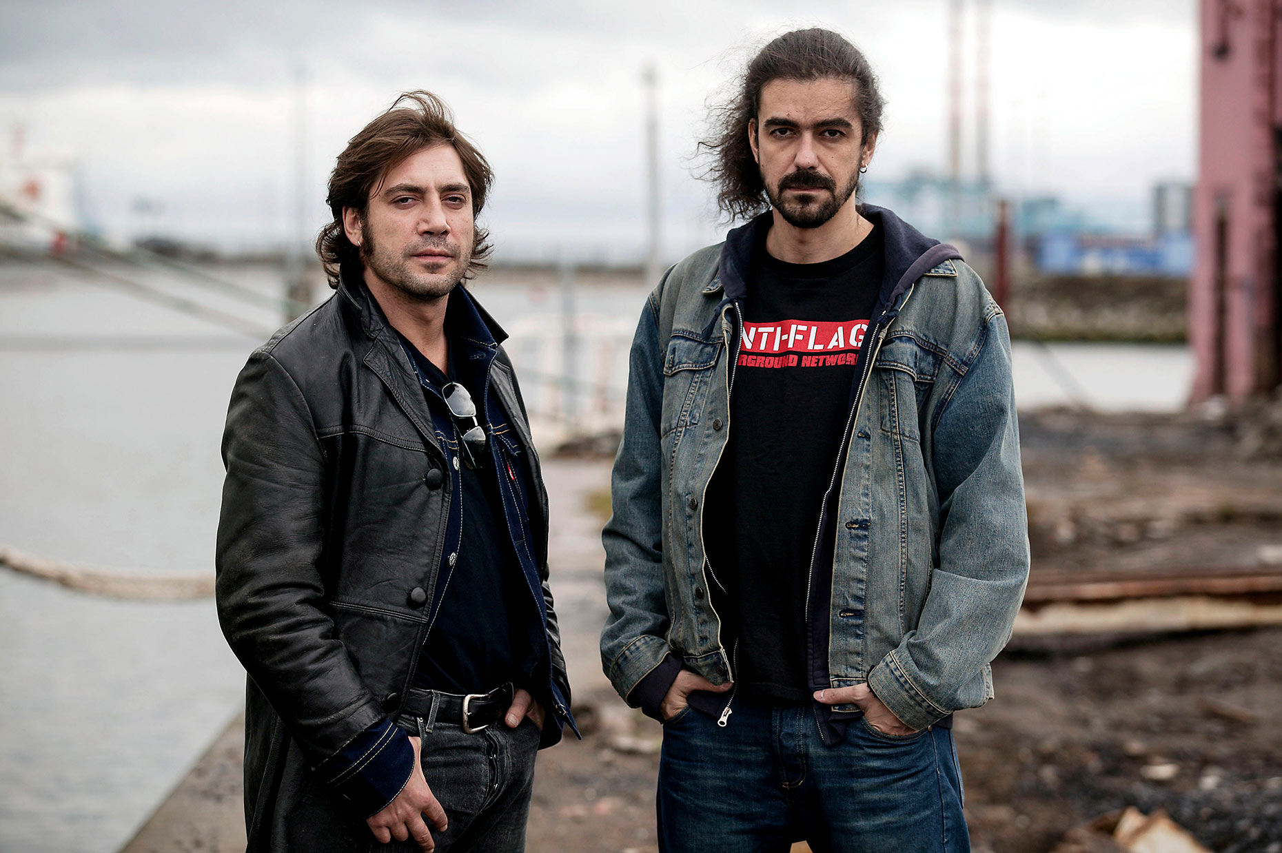 Actor Javier Bardem and Director Fernando Leon De Aranoa