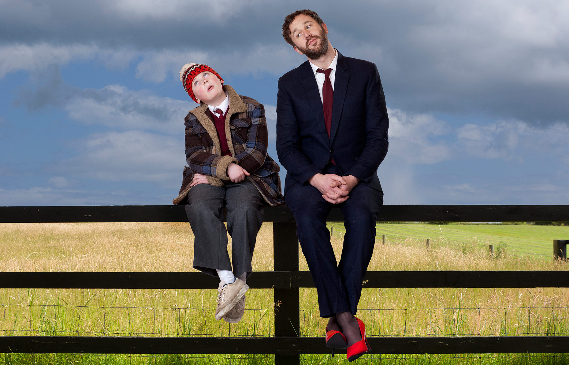 MOONE BOY: David Rawle and Chris O
