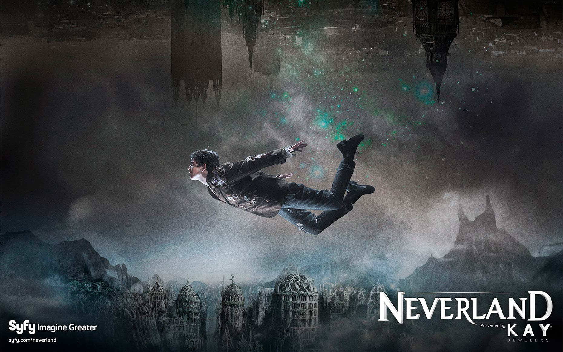 NEVERLAND Poster with Charlie Rowe