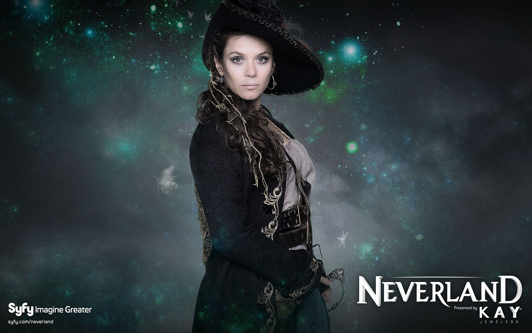 NEVERLAND Poster with Anna Friel