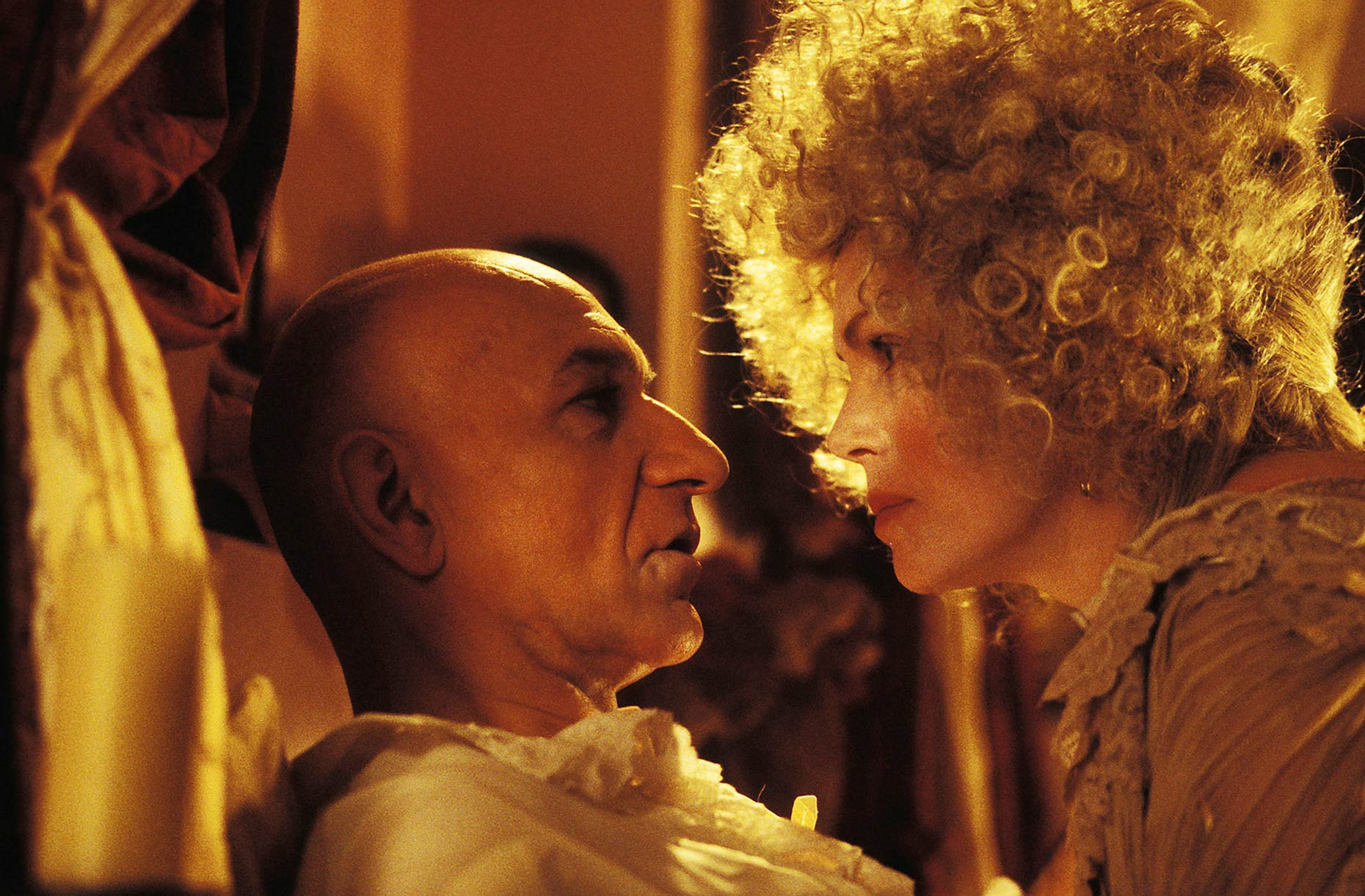THE TALE OF SWEENEY TODD Ben Kingsley and Joanna Lumley