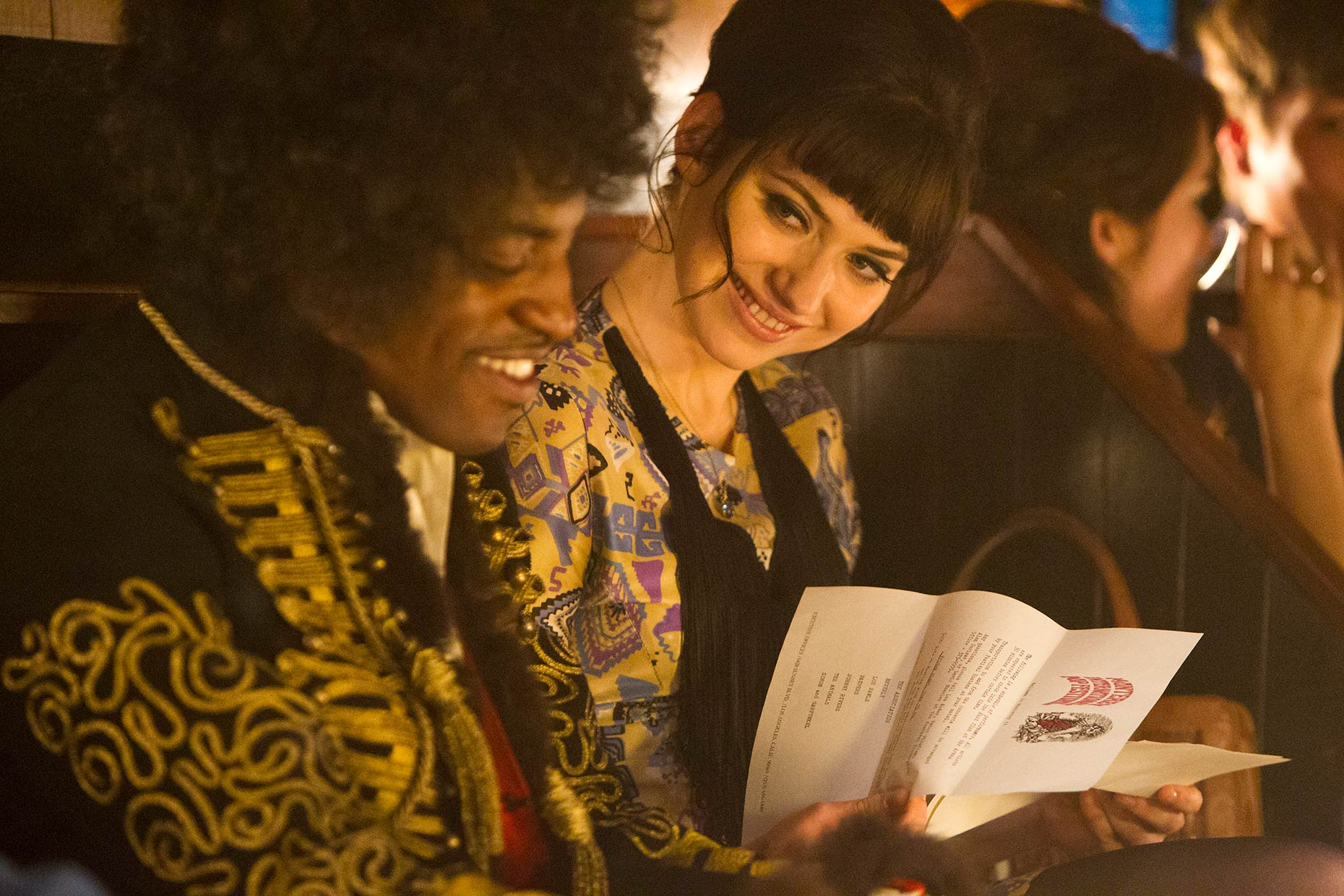 JIMI: ALL IS BY MY SIDE : Andre Benjamin and Imogen Poots