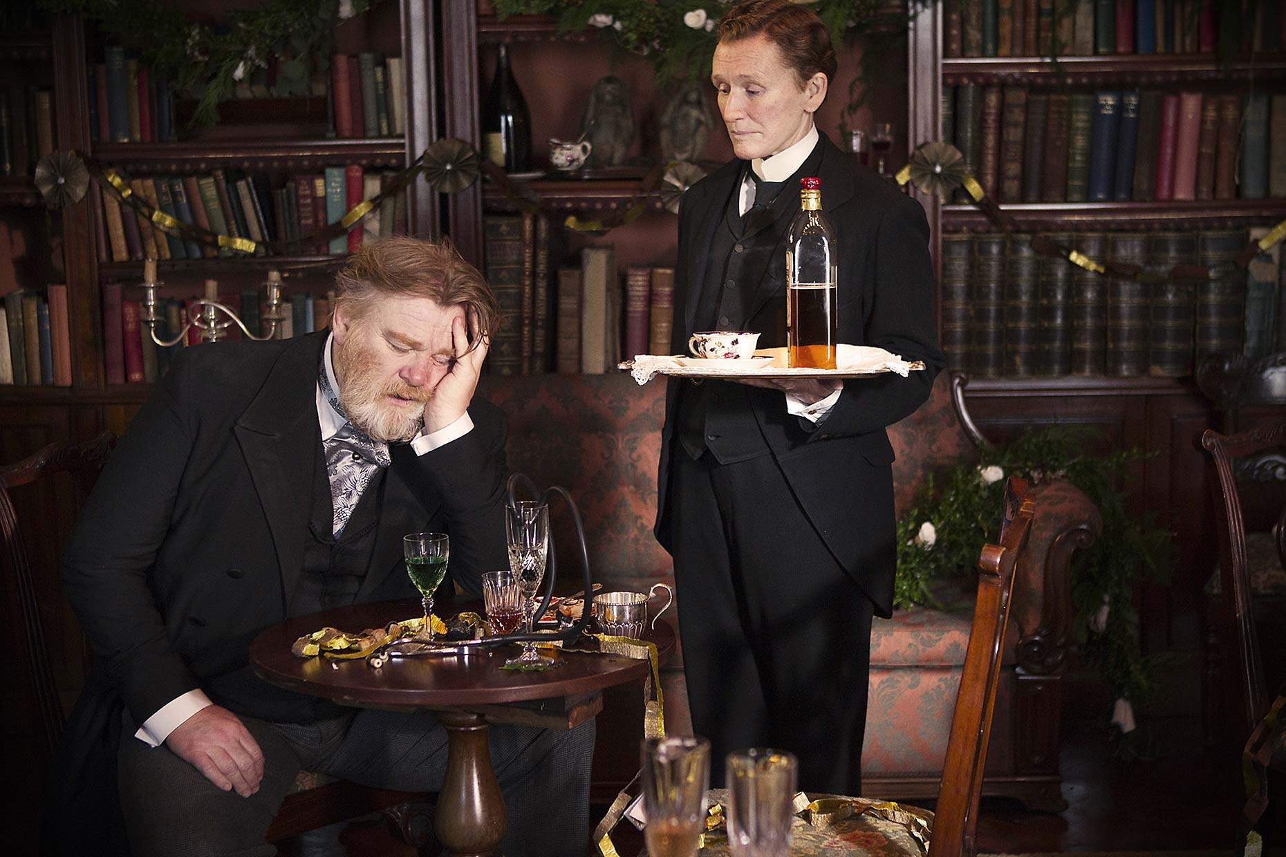 ALBERT NOBBS : Brendan Gleeson and Glenn Close