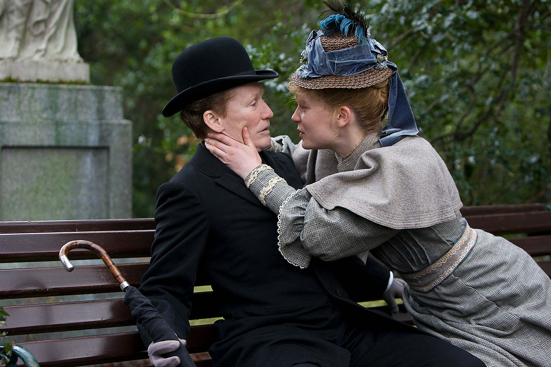 ALBERT NOBBS Glenn Close and Mia Wasikowska (2)