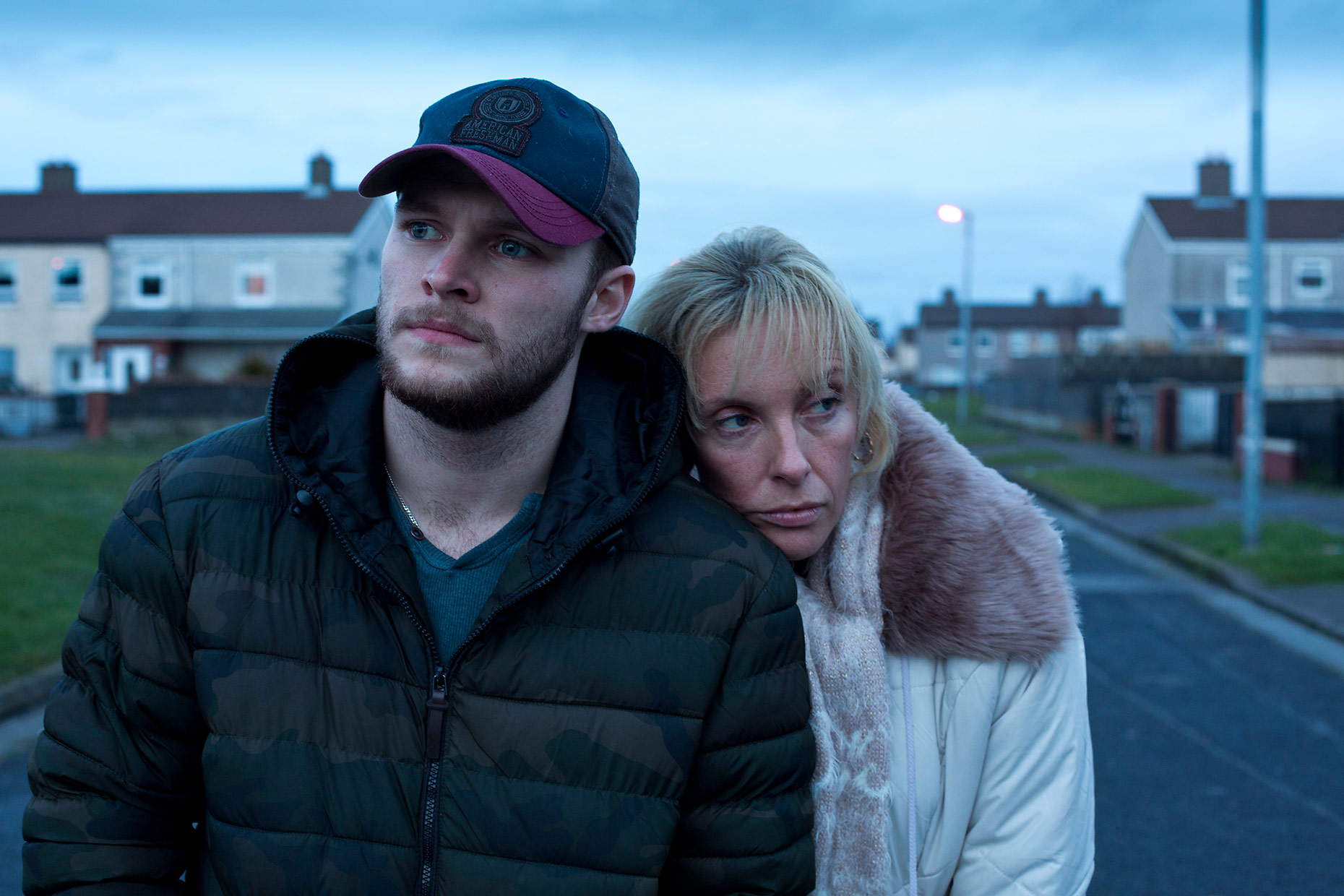 GLASSLAND Jack Reznor and Toni Collette