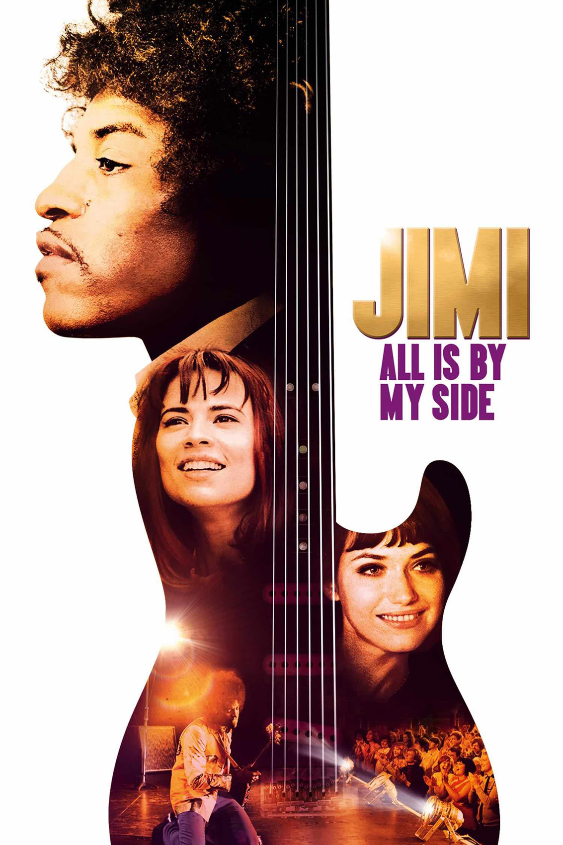 JIMI; ALL IS BY MY SIDE Poster