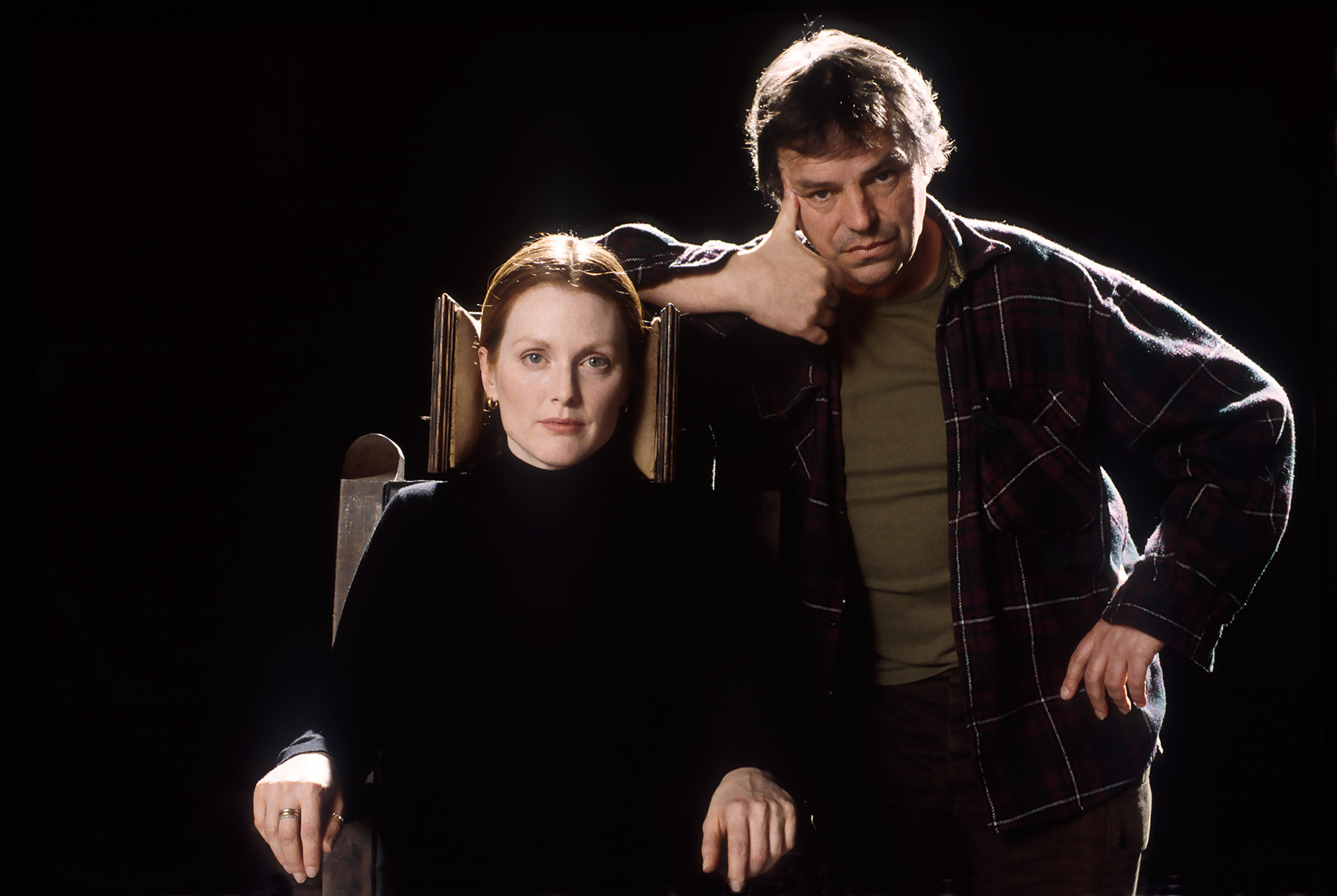 Actor Julianne Moore and Director Neil Jordan