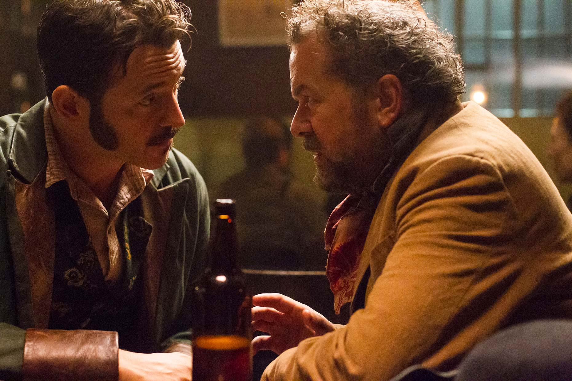 RIPPER STREET 2 : Adam Rothenberg and David Costabile