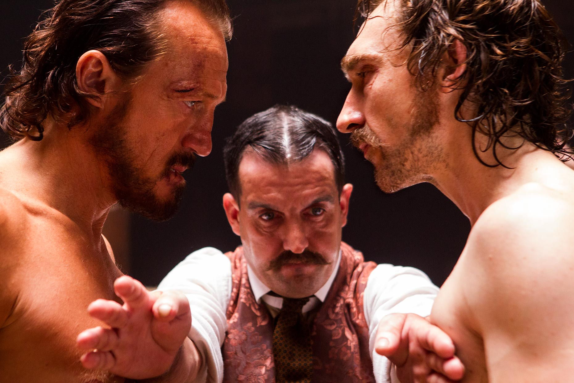 RIPPER STREET 2 Jerome Flynn and Joseph Mawle