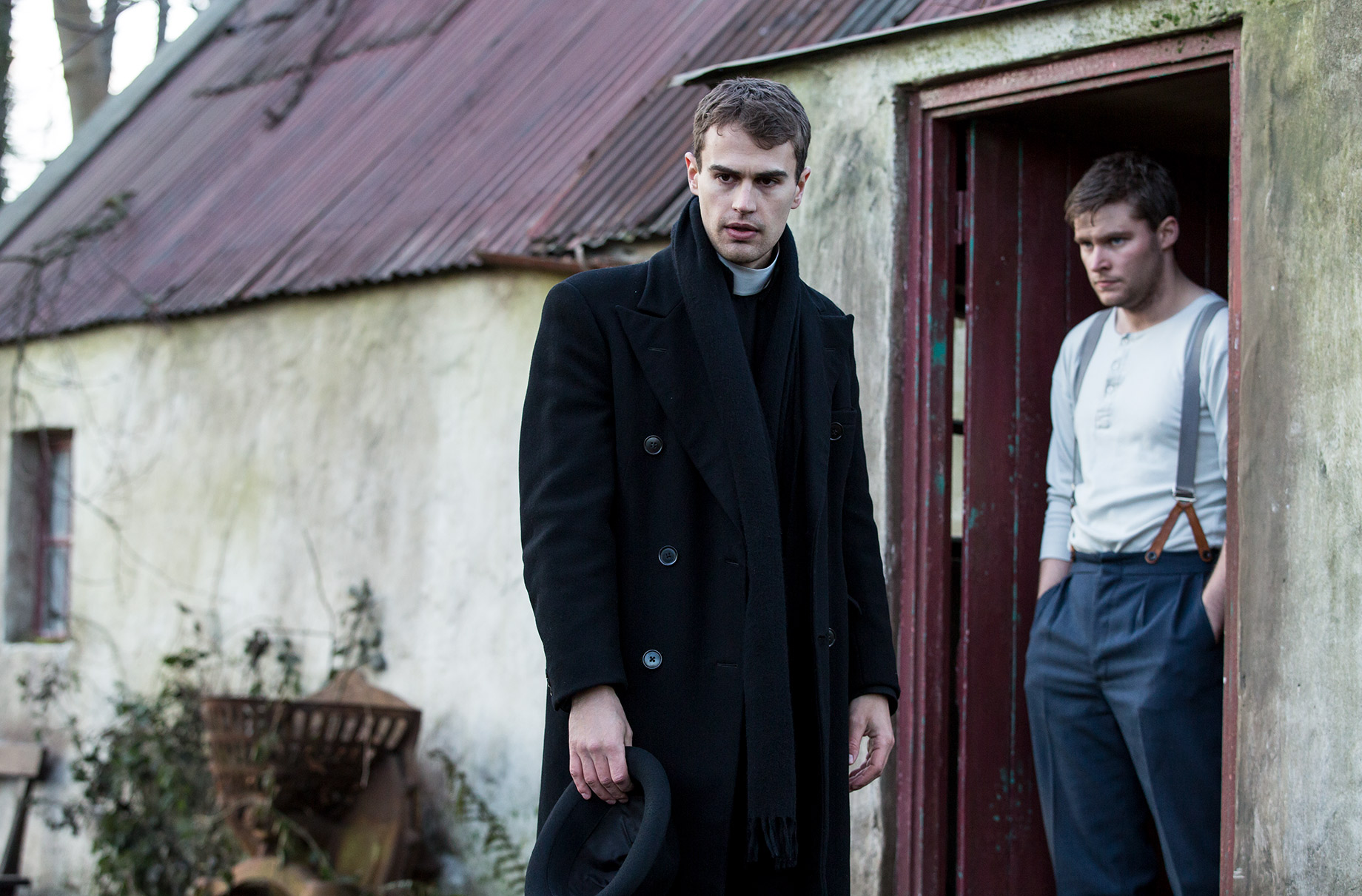 THE SECRET SCRIPTURE : Theo James and Jack Reynor