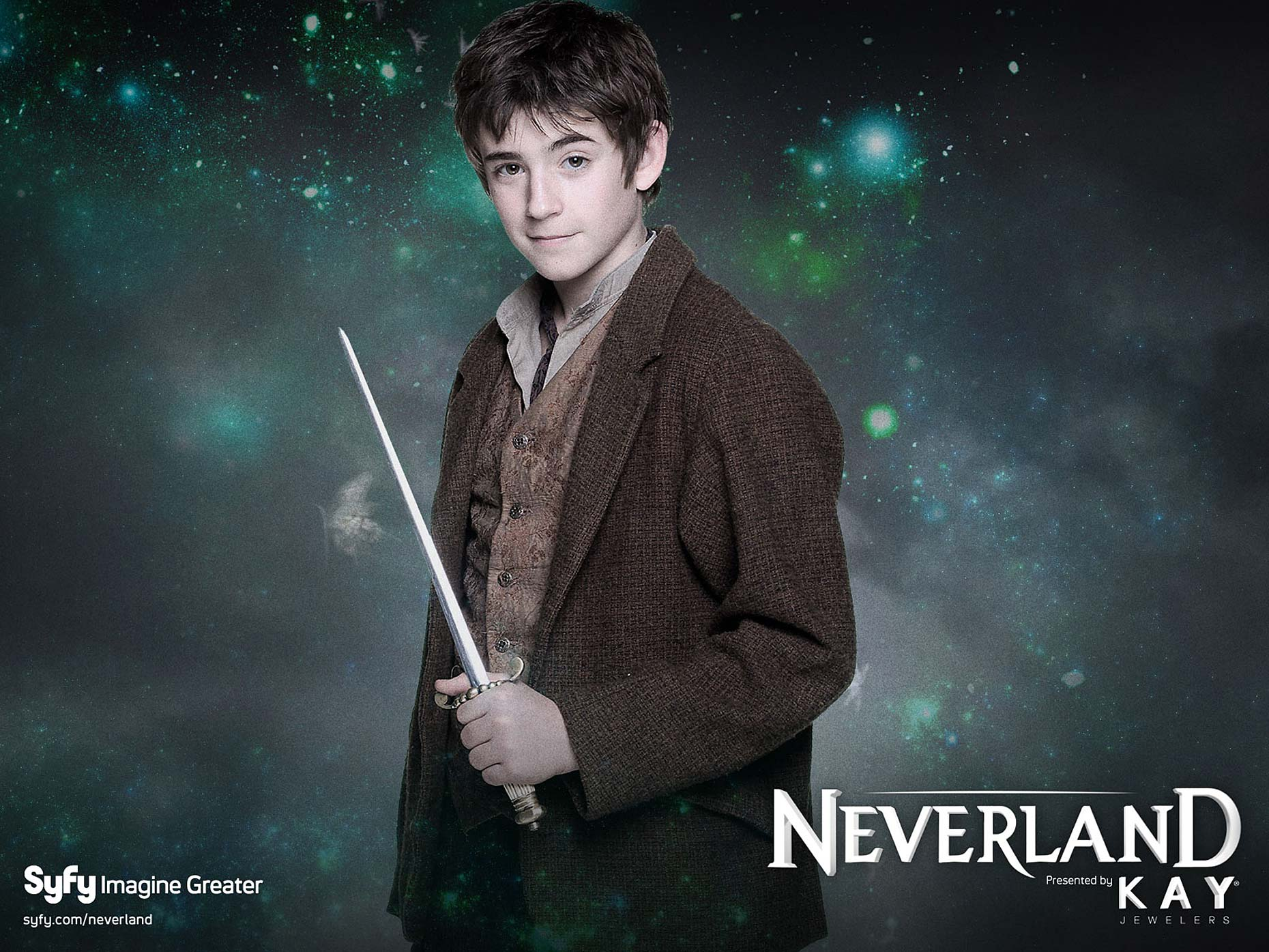 NEVERLAND Poster Charlie Rowe
